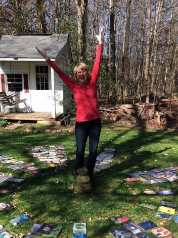 In February I celebrated my certification as a SoulCollage® Facilitator in North Carolina with Catherine Anderson.